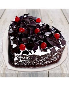 Buy Heart Shape Black Forest Cake Online (3 Kg)