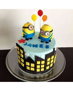 Minions Cake For Kids