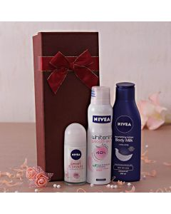 Nivea Roll On & Whitening Deo with Nourishing Lotion