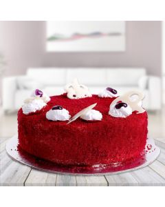Romantic Red Velvet Cake