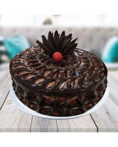 Yummy Chocolate Fudge Cake