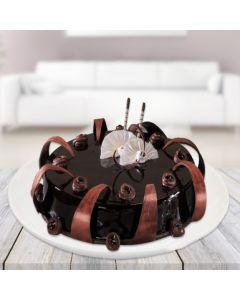 Swirly Chocolate Cake