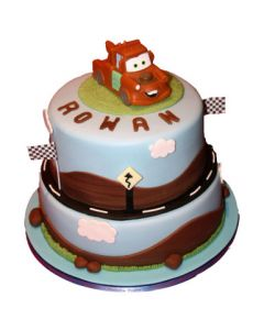 Tow Mater Fondant Cake for Kids
