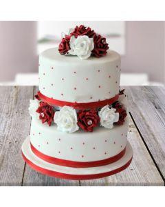 Mouth-watering Vanilla Cake
