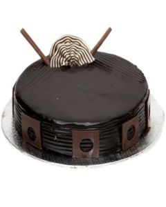 Heavenly Dark Chocolate Cake