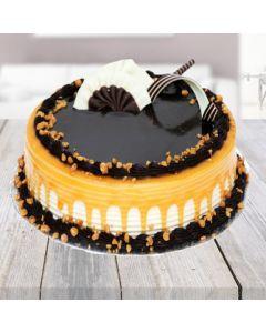 Appetizing Carmell Chocolate Cake