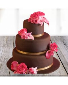 3-tier Sinful Chocolate Cake