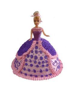 Elegant Barbie Cake