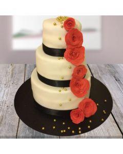 3-tier Scrumptious Vanilla Cake