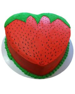 Delectable Strawberry Affair Cake