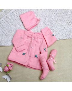 Pink Winter Hamper For your Baby