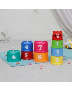 Buy Multicolor Play Stacks (9 Pcs)