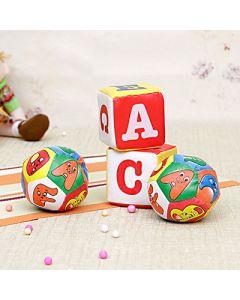 Set Of 2 Fun Cube & Balls