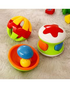 Set of 3 Rattle Set for Infants