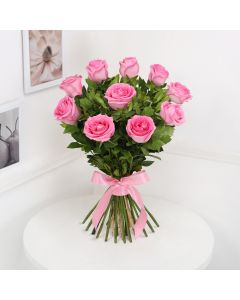 Bunch of Beautiful Pink Roses
