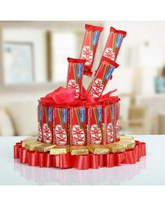Mighty kitkat chocolate mountain
