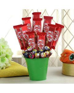 KitKat Chocolate With Lollipop Bucket