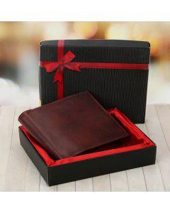Elegant Brown Wallet For Men