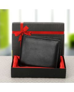 Elegant Black Wallet For Man