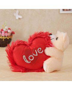 Teddy Bear With Lovely Heart