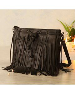 Stylish faux Leather Sling Bag For Woman