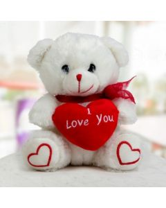Valentine Day Special White Teddy