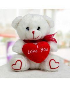 Valentine Day Special White Teddy