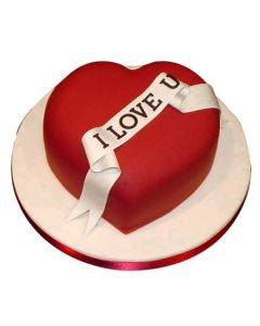 Special Valentines Day Heart Shaped Cake For Your Love