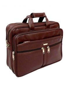 Faux Leather Office Bag