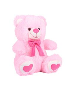 Soft Spongy Pink Teddy Bear