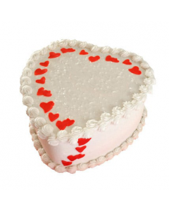 Celebrate your Love With Heart Shaped Cake