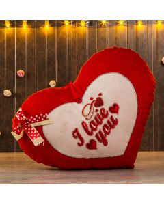 Heart Shaped I Love you Cushion