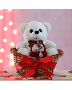 Happy Moment of Cute Teddy