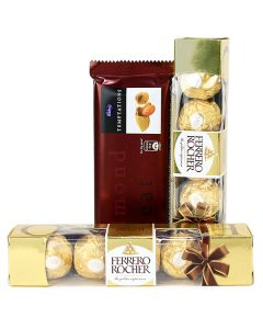Dazzle Your Love With This Terrific Chocolate Hamper