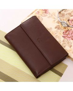 Elegant Brown Leather Wallet