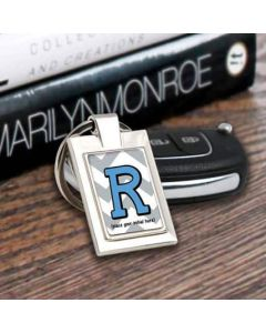 Custom Letter Key Chain