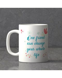 Personalized Friendship White Mug