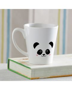 Pleasant Panda Personalized White Mug