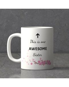 Lovely personalized Mug For Sister