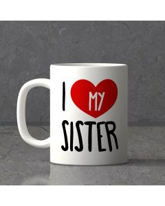 Personalized mug for Lovely Sister