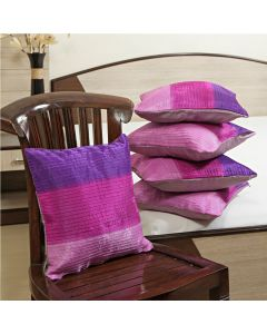 Silk Cushion Cover With Delightful Colour