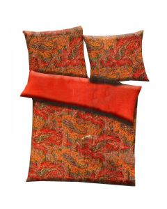 Contemporary Printed Double Bed Quilt With Mustard Colour