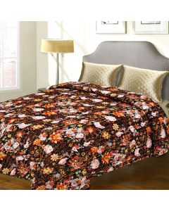 Double Bed Cover With Awesome floral Print