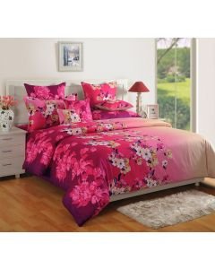 Awesome Printed Bedsheet With Matching Pillow Covers