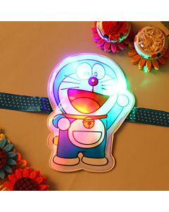 Buy Doremon Light Rakhi Online