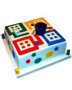 Ludo Birthday Cake
