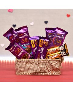 Dairy Milk Chocolate Basket