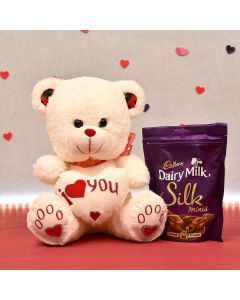 Dairy Milk Silk Minis Chocolate With Teddy