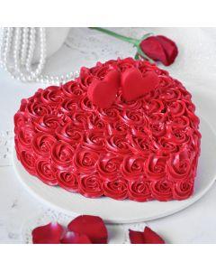 Rosette Chocolate Cake