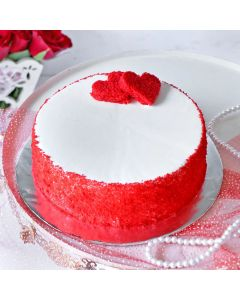 Red Velvet Round Cake for Special One